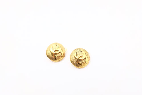 Chanel Golden Clip-on Earrings
