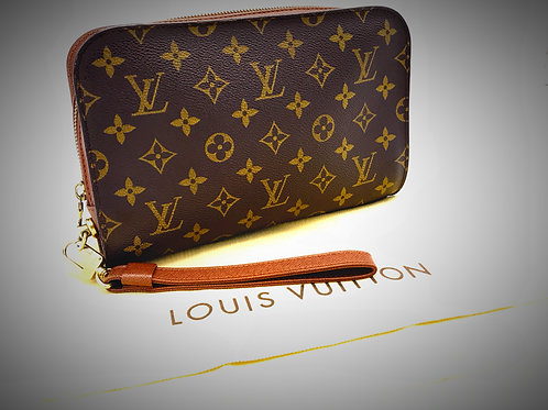 Louis Vuitton Orsay Clutch Bag in Monogram Canvas