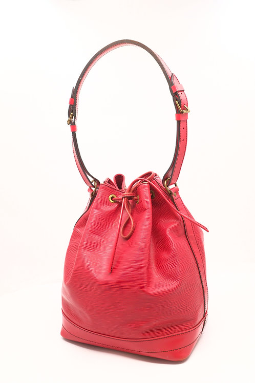 Louis Vuitton Noe Red Epi