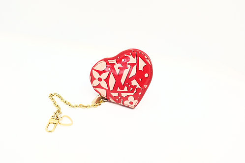 Pre owned Louis Vuitton Sweet Monogram heart coin case