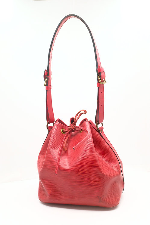 Louis Vuitton Petit Noe in Epi Red Leather