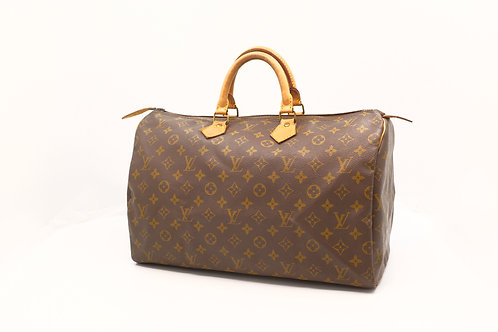 Louis Vuitton Speedy 40 in Monogram Canvas
