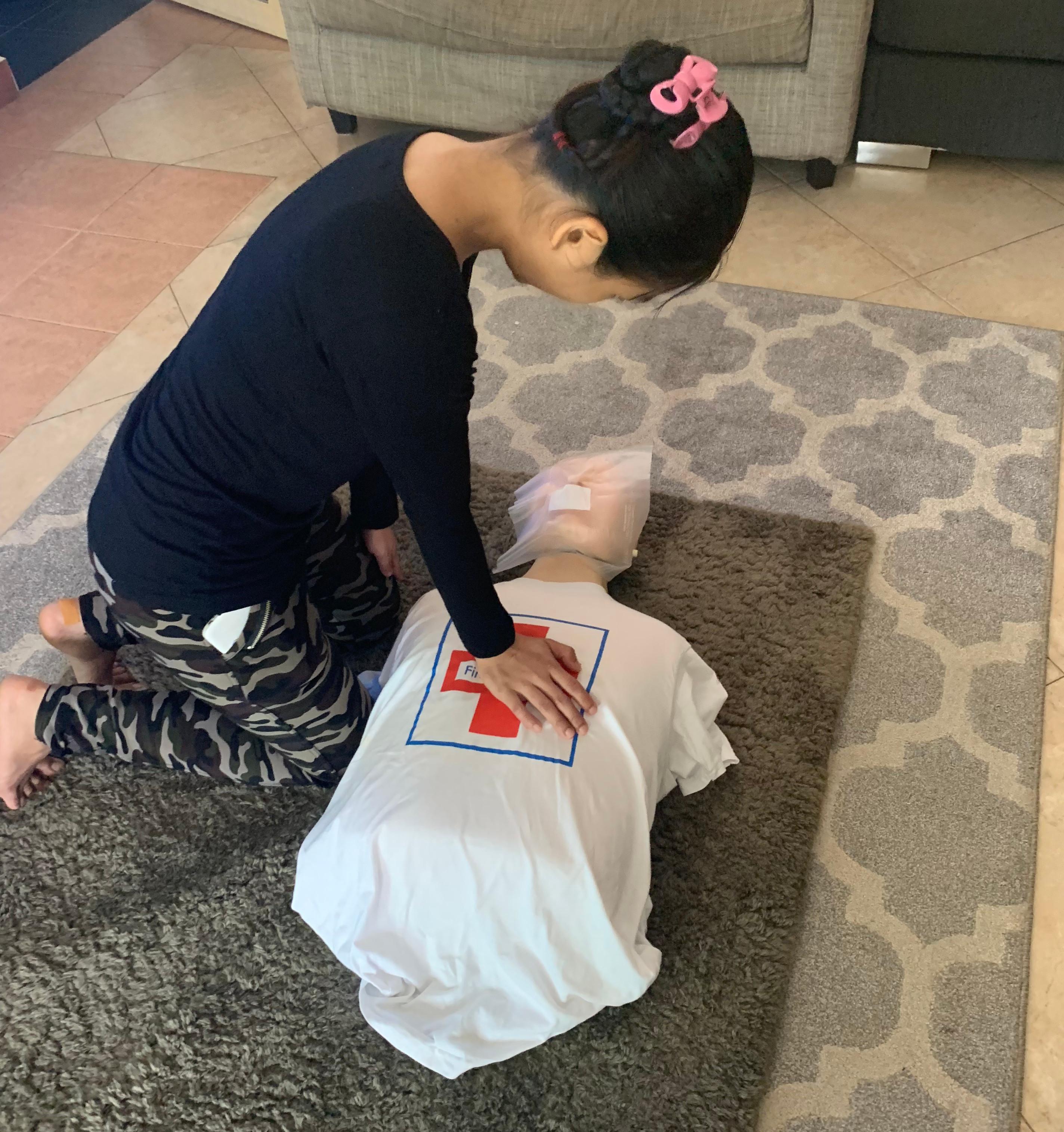 Helper First Aid & CPR Class