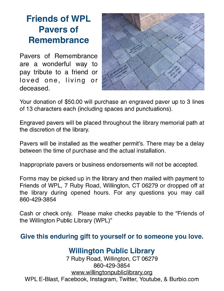 jpeg Friends of WPL - Pavers of Remembra