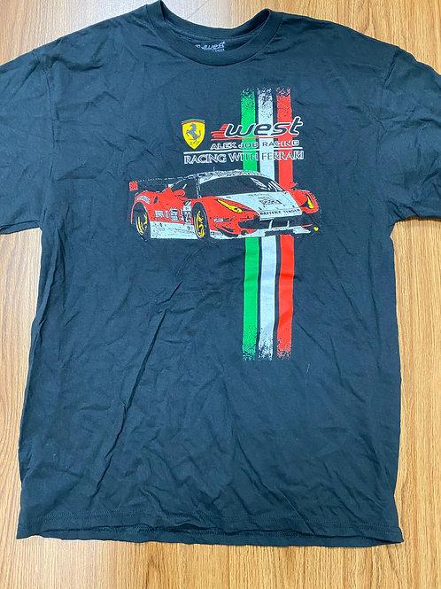 AJR/West ferrari tshirt 1 - Black