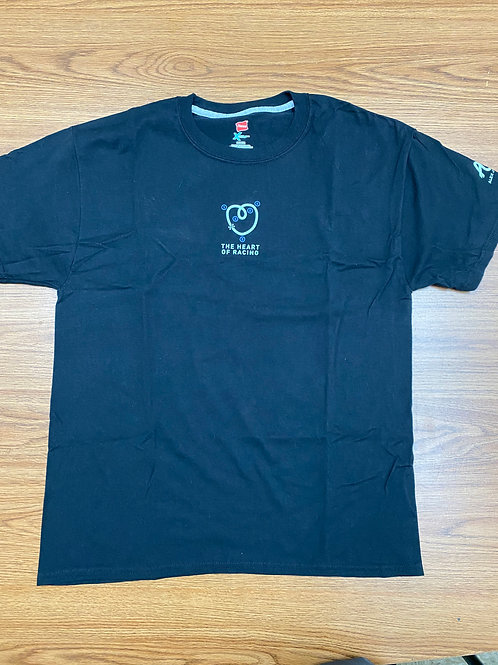 AJR/The heart of racing t shirt - black