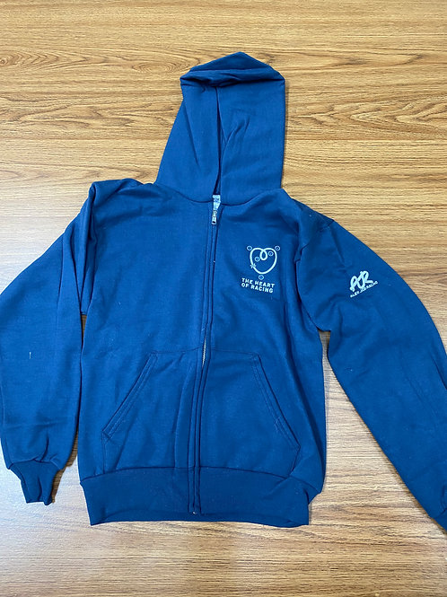 AJR/Heart of racing kids zipped hoodie (Youth sizes)