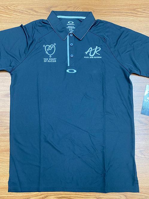 AJR/The heart of racing oakley polo shirt - black