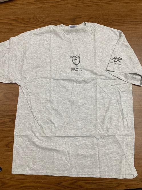 AJR/Heart of racing grey t-shirt