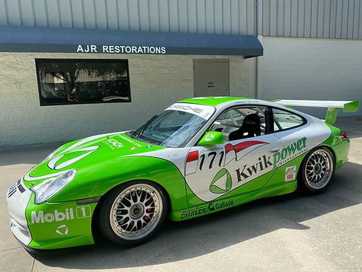 2002 Porsche 996 Supercup car