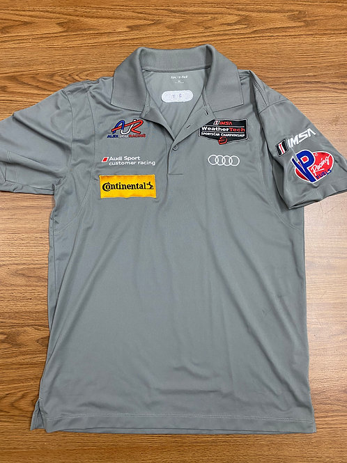 AJR/Audi polo shirt - light grey
