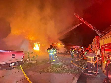 North port on scene at fire.JPG