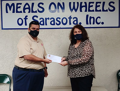 Meals on wheels sarasota check presentat