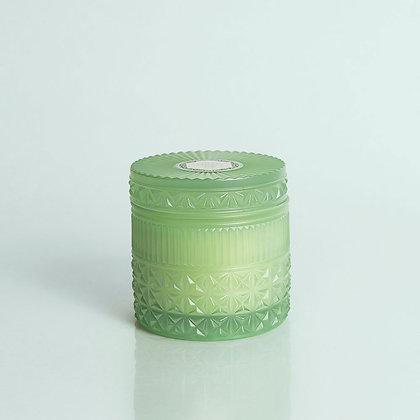 Volcano Mint Faceted Lidded Jar