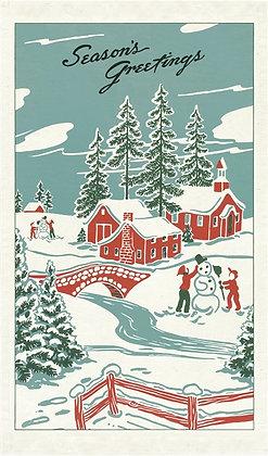 Winter Wonderland Tea Towel