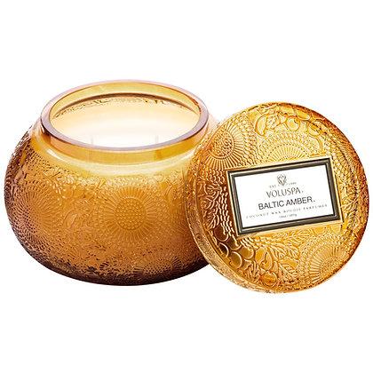 Voluspa Baltic Amber Chawan Bowl 2 Wick Candle