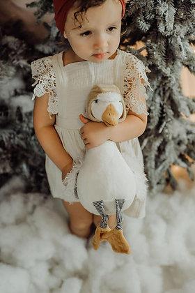"""""""Avery the Aviator"""" Snow Goose"""