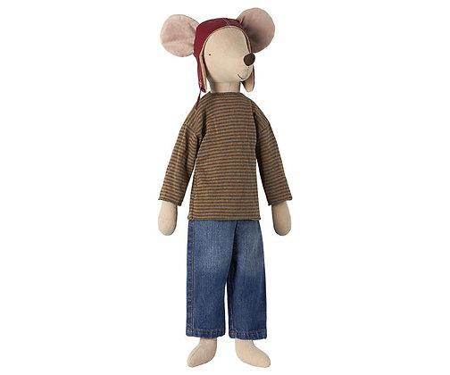 Maileg Mega Mouse-Racer Boy