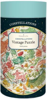 Vintage Constellations 1000 Piece Jigsaw Puzzle