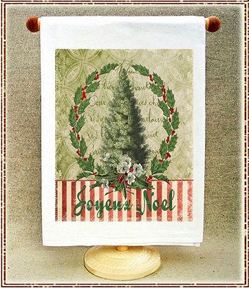 Joyeux Noel Christmas Tree