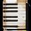 Thumbnail: Sid Dickens 'Piano Keys' T-45