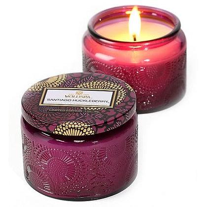 Voluspa Santiago Huckleberry Small Lidded Candle