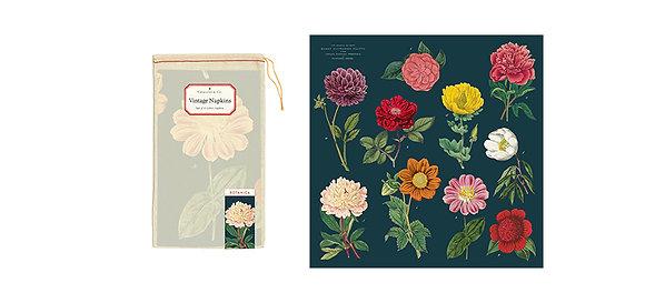 Vintage Floral Napkin Set