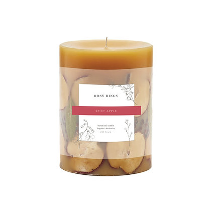 Spicy Apple Large Botanical Candle