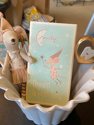 Maileg Dream and Tooth Fairy with Box and Heart Holder