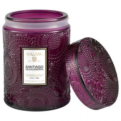 Voluspa Santiago Huckleberry Lidded Candle Jar