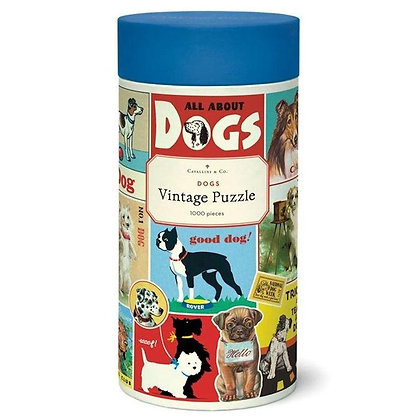 Vintage Dogs 1000 Piece Jigsaw Puzzle
