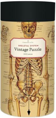 Vintage Skeletal System 1000 Piece Jigsaw Puzzle