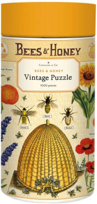 Vintage Bees and Honey 1000 Piece Jigsaw Puzzle