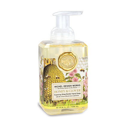 Honey and CloverFoaming Hand Soap