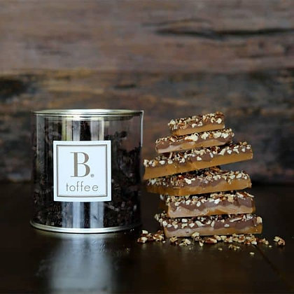 B. toffee Canister of Toffee
