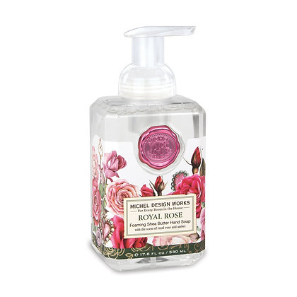 Rose Foaming Hand Soap