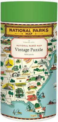 Vintage National Parks 1000 Piece Jigsaw Puzzle