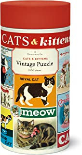 Vintage Cats 1000 Piece Jigsaw Puzzle