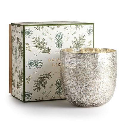 Illume Balsam and Cedar Lux Mercury Candle