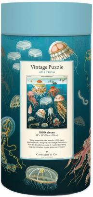 Vintage  1000 Piece Jellyfish Jigsaw Puzzle