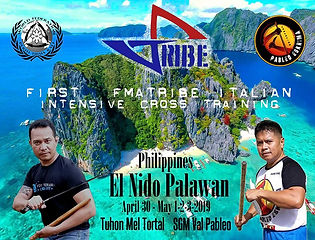 First FMA TRIBE Intensive cross training Palawan