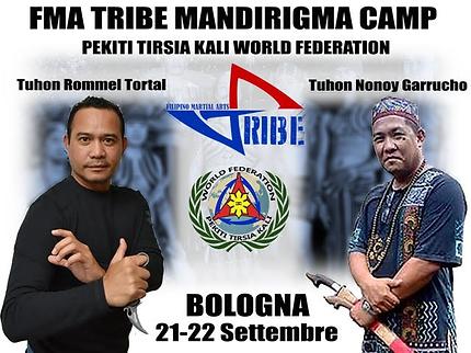 FMA TRIBE Mandirigma Camp Tuhon Mel Tortal - Tuhon Nonoy Garrucho Pekiti Tirsia Kali