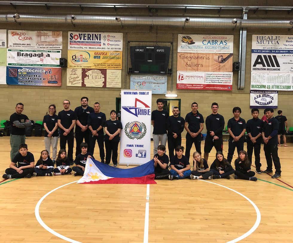 FMA TRIBE PEKITI TIRSIA KALI BOLOGNA 2018 ITALY