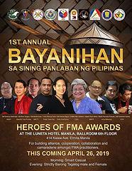 BAYANIHAN Fma Tribe Manila