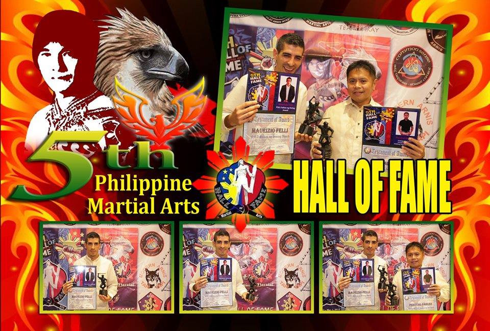 FMA TRIBE 5 th Philippine Martial Arts Hall Of Fame