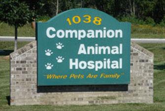 Companion Hospital Sign