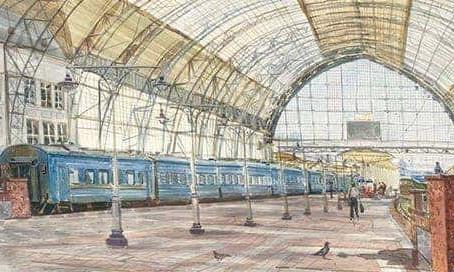 Бесплатная пешеходная экскурсия. Киевский вокзал - один из девяти и неповторимый.