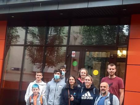 Вчера встретили группу из Бельгии. (Отель Концерт Лотос)