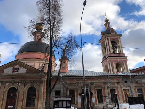 Церковь Ирины Великомученицы в Покровском