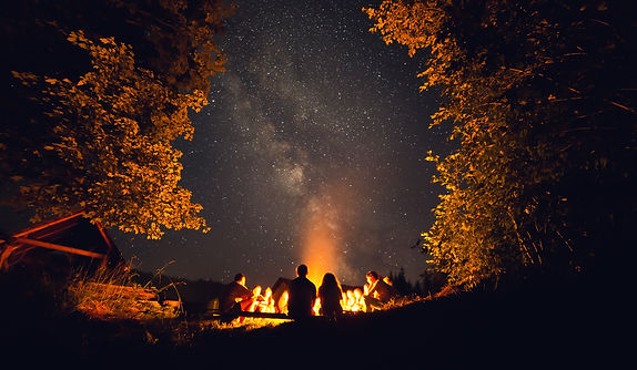 The fire at night.jpg